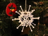 Diamond: Christmas Ornament 3d printed