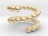 Spiral ring 18 3d printed