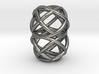Loop Ring Pendant 3d printed