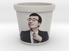 John Oliver Flower Pot with Texture 3d printed