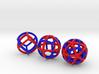 Dual Polyhedra 3d printed