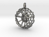 Spumellaria spineless Radiolarian - Science Jewelr 3d printed
