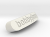 Bobbyjimmy Nameplate for SteelSeries Rival 3d printed