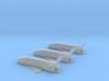 1/285 BOEING X-37B ORBITAL SPACE PLANE (3 SHIPS) 3d printed