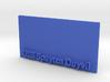 Base for 1/600 USS Spuyten Duyvil 3d printed