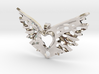 another variation on a heart takes flight 3d printed
