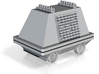 """1/6 Mouse Droid from Star Wars 3"""" 3d printed"""