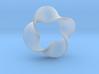 0159 Mobius strip (p=4, d=5cm) #007 3d printed