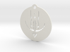 Sandazons Insignia Round Pendant 3d printed