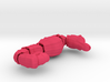 Wiggling Seahorse 3d printed