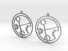 Brandi - Earrings - Series 1 3d printed