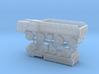 MAZ 7310 / ZIL 135 Trucks 1/200 3d printed