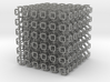Microstructures: Pattern0050 5mm cell 3d printed