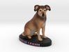 Custom Dog FIgurine - Rauja 3d printed