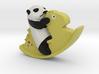 Panda riding a Horse 3d printed