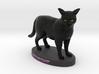 Custom Cat Figurine - Midnight 3d printed