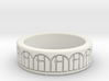 3D Printed Harmony Ring Size 7 by bondswell3D 3d printed