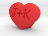 Heart Love custom 3d printed
