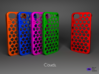 Iphone 5/5s case -  Clouds Pattern 3d printed