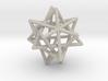 Tetrahedron 4 Compound, round struts 3d printed