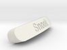 Snook Nameplate for Steelseries Rival 3d printed