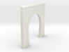 NT11 Tunnel portal for single track 3d printed