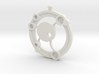 Orbit Amulet 3d printed