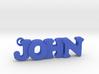 JOHN (Keychain - Pendant) 3d printed