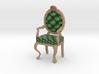 1:48 Quarter Scale PinePale Oak Louis XVI Chair 3d printed