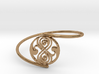Seal of Rassilon - Bracelet Thin Spiral 3d printed