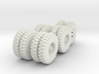 Cargo Truck Wheels(1:18) 3d printed