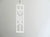 Lilly Art Deco Pendant 3d printed
