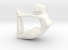 Yoga Girl-002 scale 1/18 Passed 3d printed