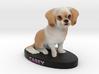 Custom Dog Figurine - Casey 3d printed