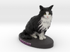 Custom Cat FIgurine - Biscuit 3d printed