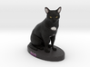Custom Cat Figurine - Boo 3d printed
