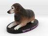 Custom Dog Figurine - Stanley 3d printed