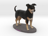 Custom Dog Figurine - Sprocket 3d printed