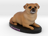 Custom Dog Figurine - Scooter 3d printed