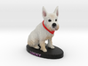 Custom Dog Figurine - Lucky 3d printed