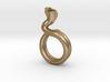 Cobra Ring Size 6ish 3d printed