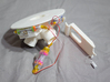 Littlebits Water Rocket LAUNCHPAD #shapebits 3d printed