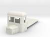 009 flat goods railbus with bonnet 3d printed