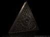 Triangle of Light 1/1 Scale 1 x Side part 3d printed Dynamically Lit render. Geometry of the model may vary