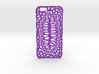 iPhone6 Case Lip (Extreme Voronoi Edition) 3d printed