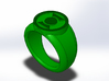 Earth 2 Green Lantern Ring 3d printed