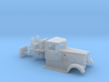 1/64th Peterbilt round fenders running boards 3d printed