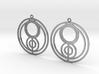 Jenna - Earrings - Series 1 3d printed