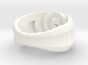 Spiral ring - Size 7 3d printed