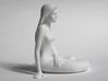 Mermaid Miniature Statue Model Scale 1:12 1:16 3d printed